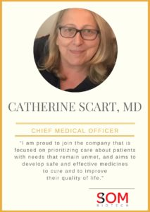 SOM Biotech strengthens its management team hiring Dr. Catherine Scart as CMO